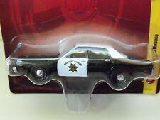 JOHNNY LIGHTNING - 1977 DODGE MONACO SHERIFF HIGHWAY PATROL POLICE CAR -DIECAST