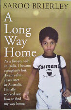 A LONG WAY HOME Saroo Brierley - FREE POST - Lost Boy Reunited BOOK - Movie Lion