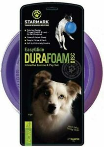 """Easy Glide Durafoam Disc Frisbee Dog Toy By Starmark - Large (11"""") - New"""
