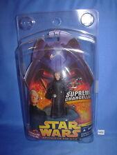 "Star Wars 2005 Chancellor Palpatine Supreme Chancellor w/Clamshell Case 3.75"""