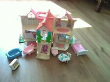 Fisher Price Folding Dolls House With Furniture