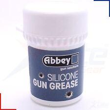 Abbey Silcone Gun Grease Airsoft Air Rifle Lubricant Valve Seal 20ml Pot