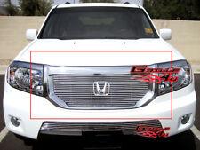 Fits 09-11 2011 Honda Pilot Main Upper Billet Grille Insert