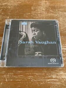"""Sarah Vaughan """"Sarah Vaughan"""" SACD single layer disc Verve remaster 2003"""