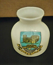 Savoy China Stoke On Trent  - Tiverton - Crested Ware Flask