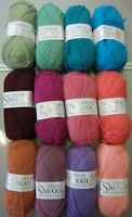 Ten 50g Balls of Sirdar Snuggly Double Knitting Wool/Yarn for Knitting/Crochet