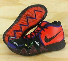 7d720e0238b0 Nike Kyrie 4 PE IV Day Of The Dead Team Orange Black CI0278-800 Men s