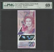 East Caribbean 20 Dollars ND (2019) Pick Unlisted  Uncirculated Grade 69