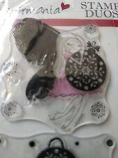 Papermania Stamp Duos PMA 9079105 Fairy Christmas
