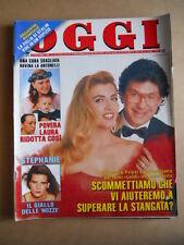 OGGI n°42 1992 Dramma di Laura Antonelli Stephanie di Monaco   [G591]