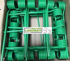 20 x Krone KW Grass Silage Hay Tedder Kicker Tine Green Clockwise Tine 1530141