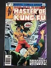Shang Chi Master of Kung Fu #89 MARK JEWELERS VARIANT SCARCE/RARE VF
