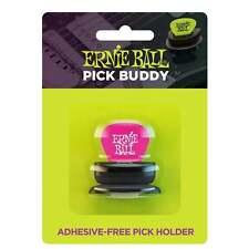 Ernie Ball Pick Buddy Adhesive Free Pick Holder with FREE Everlast Plectrum