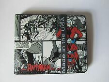 Ant Man Scott Lang Hank Pym Marvel Comics Buckle Down Bifold Wallet New GRAY