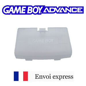 Cache pile Clear blue / bleu glacier Game Boy Advance neuf [ Battery cover GBA ]