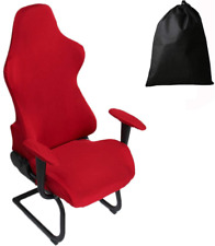 LJNGG Office Computer Game Chair Cover Armchair Gaming Chair Stretch Protector