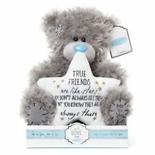 Me to You 9 Inch True Friends are Like Stars Plush Tatty Teddy Bear