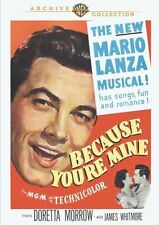 BECAUSE YOU'RE MINE (1952 Mario Lanza) - Region Free DVD - Sealed