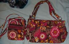 Pre-owned Vera Bradley Carnaby Purse, Small Hipster