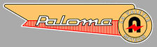 PALOMA right Sticker vinyle laminé droit