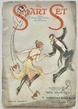 Vintage April 1921 Smart Set Literary Pulp Magazine Jazz Age Archie Gunn Flapper