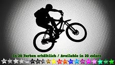 Mountainbike Mountainbiking MTB Downhill Aufkleber Sticker Decal 12cm x 11cm