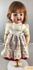 "15"" Antique German Bisque Head Flirty Eyes Doll K & R 126! Adorable! 18056"