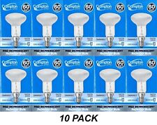 10 x 60W Incandescent R50 Reflector Light Globes Bulbs Screw E14 Dimmable SES