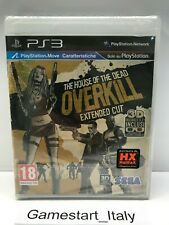 THE HOUSE OF THE DEAD OVERKILL EXTENDED CUT - SONY PS3 - NUOVO SIGILLATO PAL