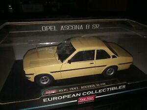 OPEL ASCONA B SR 1/18 OUT OF STOCK never been out of box!!