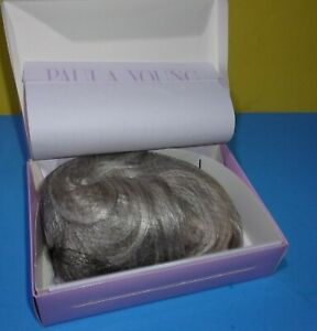 Paula Young Whisperlite Wig 4011 DANIELLE Color 56/60A Silver Gray Short Style