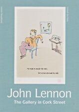 John Lennon - art exhibition - Private View invitation card