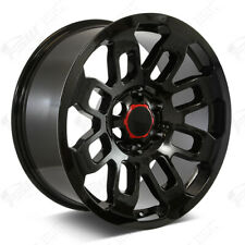 17 Wheels Rims Gloss Black For 6 Lug Tacoma Lexus Gx Lx Fj 17x8 Et0 6x1397