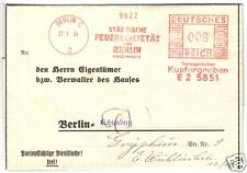 AFS, Städtische Feuersozietät, Berlin C 2, 27.1.34