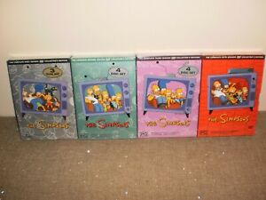 Simpsons Season 1,2,3,5 Brand New and Sealed Collector's Edition