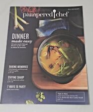 """The Pampered Chef Catalog - Fall / Winter 2017 - 8"""" x 10.5"""" - 63 pages - NEW"""