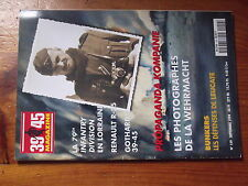 $$s Revue Heimdal 39/45 Magazine N°159 79TH ID Lorraine  Renault R-35  Gothard