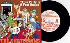 "Shotdowns - This Party... 7"" Screeching Weasel Ben Jughead Jim DeRogatis Punk"