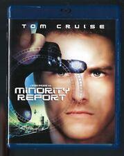 Minority Report (Blu-ray, 2002) Like New