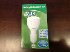 Energy saving Designed Multifunction LED Rechargeable Emergency Bulb 6000k