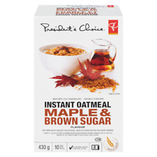 President's Choice Maple & Brown Sugar Flavour Instant Oatmeal, 430g/15.2oz,