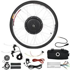 "48V 1000W Electric Bicycle Motor Conversion Kit 26"" Bike Cycling Front Wheel Hub"