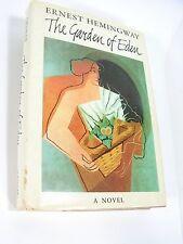 Good-Lookin HEMINGWAY'S THE GARDEN OF EDEN, HCDJ, 1st BOMC Edition, 1986