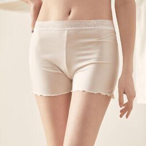 Women's 50% Silk Slip Shorts Petti pants Bloomer Knickers Panties Boyshort SG360