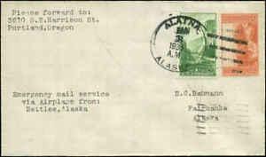 Alaska Emergency Flight Alatna (DPO Dead Post Office ) to Fairbanks Route #4
