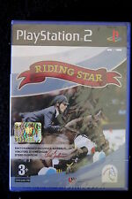 PS2 : RIDING STAR - Nuovo, sigillato ! Raccomandato da Ludger Beerbaum !