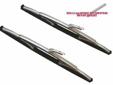Jaguar S Type, 3.4,3.8,&420 1964-1968 A Pair Of Stainless Steel Wiper Blades