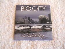 "Big City ""Wintersleep"" Rare 2013 AOR cd Indie  Digipack NEW"