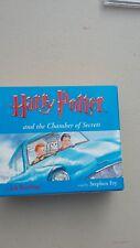 harry potter chamber of secrets audio cd