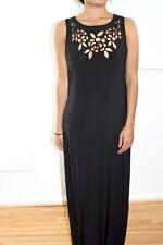 917b26db22fa Boohoo Black Sleeveless Maxi Dress UK 10